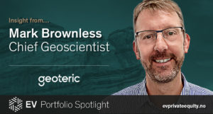 Quote from Mark Brownless Geoteric