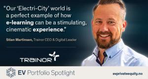 Stian Martinsen Trainor CEO