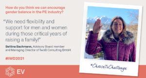 Bettina Bachmann International Womens Day